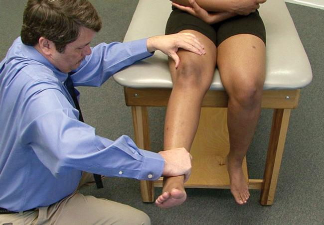 knee extension test