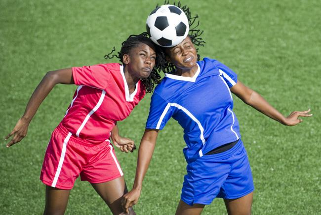 Soccer players are at risk for concussion